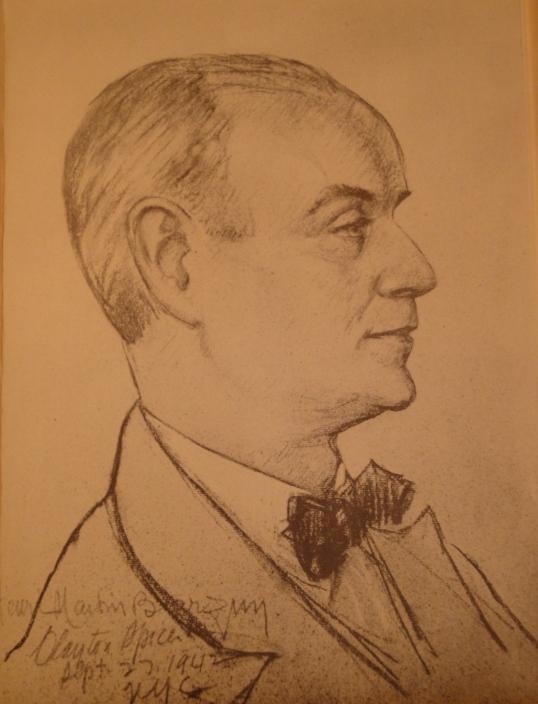 Henri Martin Barzun, 1942